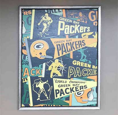 Art Design Green Bay Packers