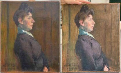Art Restoration Before And AFter